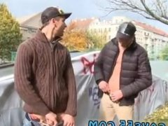Men lick pussy outdoors and gay bubble ass drilled public first time