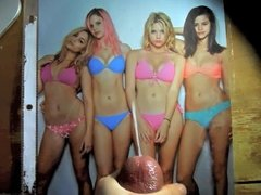 Ashley Benson Cum Tribute #1 (feat. the Spring Breakers)