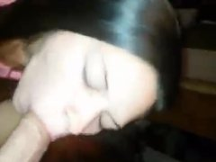She was so horny that night she wanted a cock in her mouth