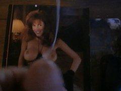Cum tribute for Jessica Hahn in stockings
