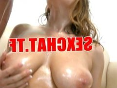 Big Boobs Stepmom Oiled Up and Ready to Fuck 2
