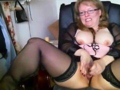 German mom masturbation