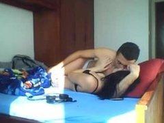 Arab couple romantic sex (girl is totally in love) - Hidden cam