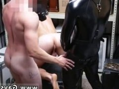 African gay man in huge blowjob movies Dungeon sir with a gimp