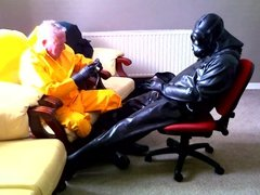 Two rubber friends.