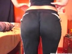 Mistress Stormy farts in pants and panties