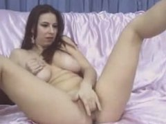 girl with bigtits touch the pussy