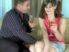 nice cute girl takes load in her innocent mouth funfilm