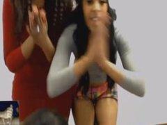 sexy african webcam girls dancing for my cock 1