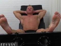 Free gay twink feet porn movie fetish tube Johnny Gets Tickled Naked