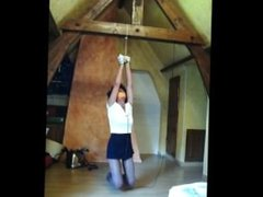 electric torture at the end of a rope
