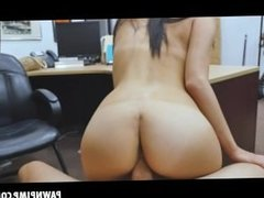 Hottie Alexis Deen Sucks And Sits On Shlong In Pawn Shop