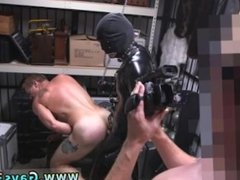 Gay fetish smoking and gay blowjobs moaning and cumming Dungeon sir with