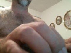 Hairy Daddy Show Cock + Ass (No Cum) 1