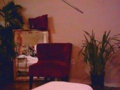 ebony milf teases on webcam