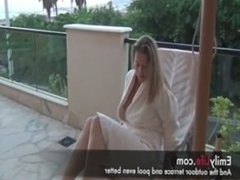 threesome with amateur milf and housewife emily