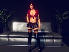 WowGirlX - PornHD - Sexy Girl Strip-Tease