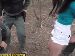 Taylor Reed gets banged against a tree