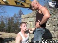 Gay sex cartoon daddy Men At Anal Work!