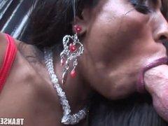 Trans Erotica - Shemale Leona anal fucks photographer