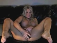 Hot Blonde Toying on Cam like the milf she is