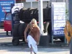 BUTT NAKED IN THE STREETS COURTNEY 3