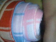 The artificial vagina of soft blanket. Blanket guy