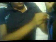 Desi babe smokes cigarette naked