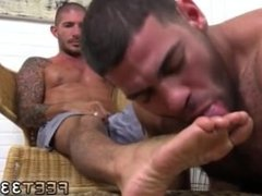 Boys foot fucking gay first time Johnny Hazzard Stomps Ricky Larkin