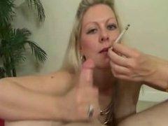 Smoking Cougar Fucked Hard