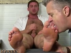 Hairy legs men gay porn Connor Gets Off
