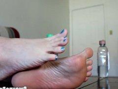 Co-worker's Oily Feet