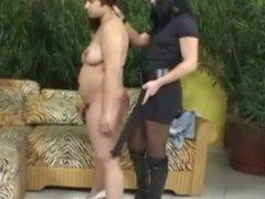Mistress and het Chubby Maid 1