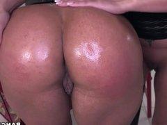 Becca Diamond and Vanessa Luna - Ass Parade
