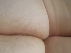 wifes tired hairy ass cheeks