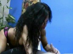 Rhonda Lee as Wunder Woman claiming her dominance w handjobs