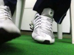 Nike Shox Nz  O tenis mais gostoso para masturbacao
