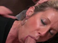 Gorgeous milf takes young cock onmilfcom