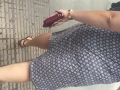 Chubby pawg in a dress 2