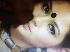 Bengali sexy actress Sudiptaa face cumshot