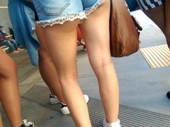 teen in shorts 40