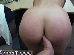 Busty latin milf and two big dicks in one