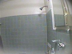 Russian girlfriend in hidden cam in shower 1