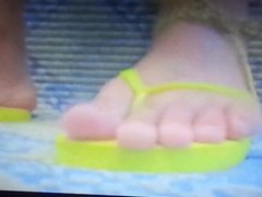 Zombie Mouse Trample Crush Under Nurse Flip Flops