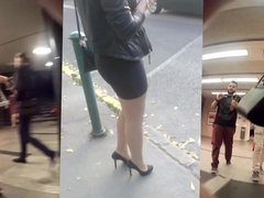 legs and butts in public compilation1