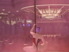 Dead or alive ayane poledance