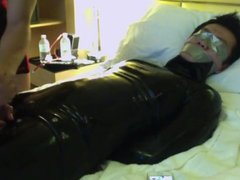 ejaculation in latex