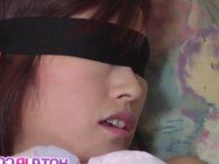 Jun Nada, obedient girl, enjoys a big dick