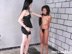 Latina masochist Pollys extreme lesbian bdsm and hardcore wh