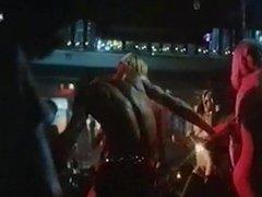 NAKED DISCO - vintage 70s blonde big tits dance tease